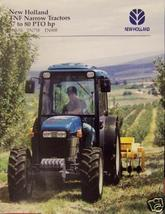 1997 New Holland TN65F, TN75F, TN90F Tractors Brochure - $4.80