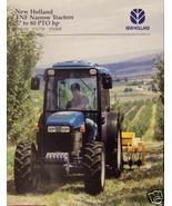 1997 New Holland TN65F, TN75F, TN90F Tractors Brochure - $4.80