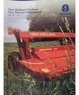 1995 New Holland 408, 411, 415 Mower-Conditioners Brochure - $4.20