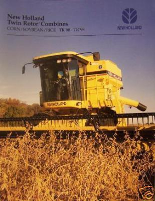 1996 New Holland TR88, TR98 Combines Brochure