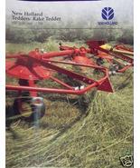 1995 New Holland 157, 163, 169 Tedders, 255 Rake-Tedder Brochure - $4.20