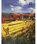 1995 New Holland 1475 Mower Conditioner Brochure -Color - $4.20