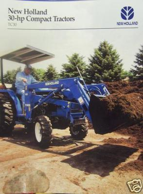 2001 New Holland TC30 Compact Tractor Brochure