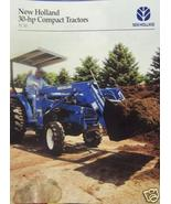 2001 New Holland TC30 Compact Tractor Brochure - $3.00