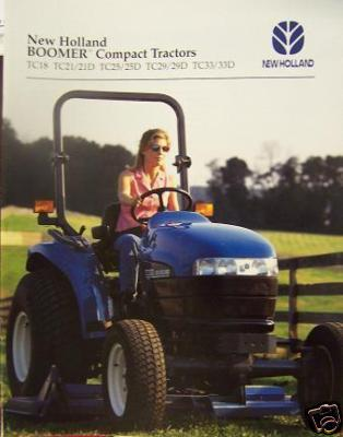 1998 New Holland TC Series Compact Tractors Brochure
