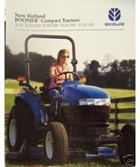 1998 New Holland TC Series Compact Tractors Brochure - $5.40