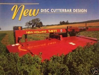 1995 New Holland 615, 616, 617 Disc Mowers,1411 Mower-Conditioner Brochure