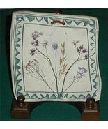 Handmade Arizona Clay Southwest Pottery Trivet Signed - $6.00