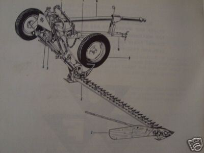 Massey Ferguson MF52 Sickle Mower Parts Manual - 1963