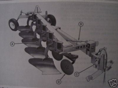 Primary image for John Deere 2700 Moldboard Plow Original Operator's Manual