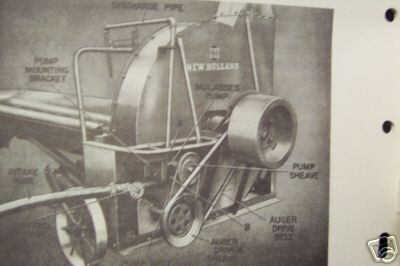 New Holland 680 Forage Blower Operator's Manual - 1955