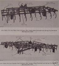 John Deere 1000 Series Drawn Cultivators Parts Manual - $12.00