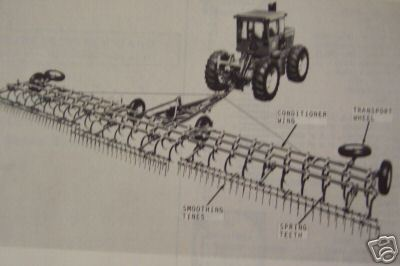 John Deere 1850,1860 Field Conditioners Parts Manual