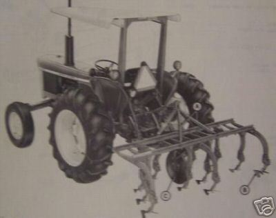 John Deere RR2 Cultivators Parts Manual