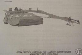 John Deere 916 Mower Conditioner Parts Manual - $13.00