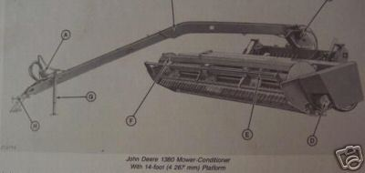 Primary image for John Deere 1380 Mower Conditioners Operator's Manual