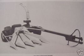 John Deere 4720 Forage Harvester Operator's Manual - $18.00