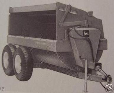 Primary image for John Deere 790, 850, 870A Flail Spreaders Operator's Manual