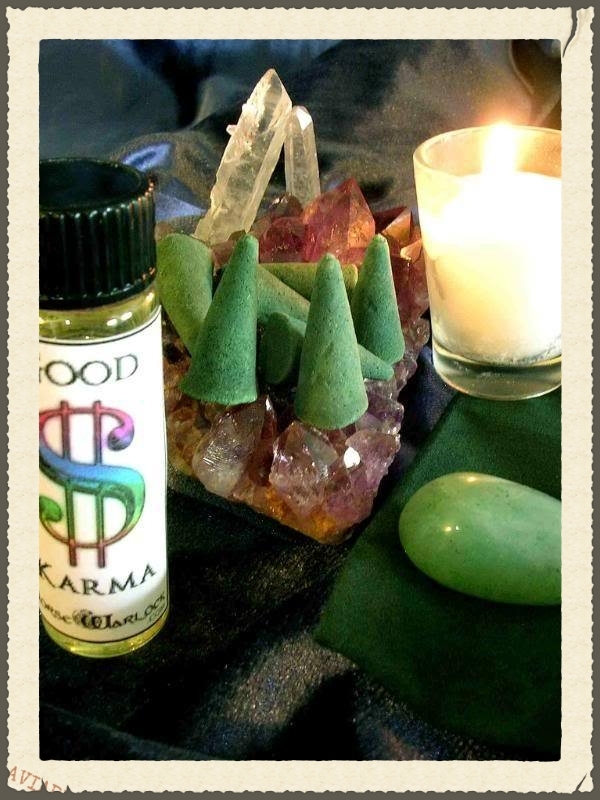 Good Money Karma Spell Kit! Reverse Debt wicca magick metaphysical haunted NW551