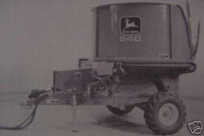 Primary image for John Deere 840 Feed Grinder Operator's Manual