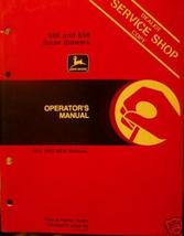 John Deere 686, 696 Snow Blowers Operator's Manual - $13.00