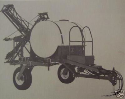 Primary image for John Deere 250 SPRACART Sprayer Operator's Manual