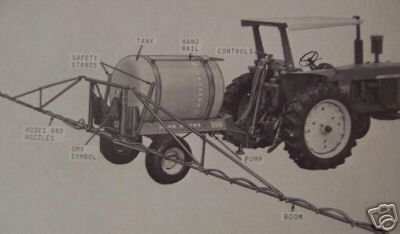 Primary image for John Deere 550 Pull Type Sprayer Operator's Manual