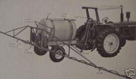 John Deere 550 Pull Type Sprayer Operator's Manual - $12.00