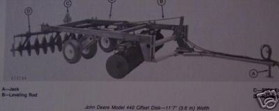 Primary image for John Deere 440 Offset Disk Harrow Operator's Manual