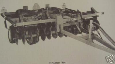 Primary image for John Deere 714 Mulch Tiller Operator's Manual
