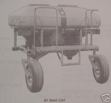 John Deere 60 Seed Cart Operator's Manual