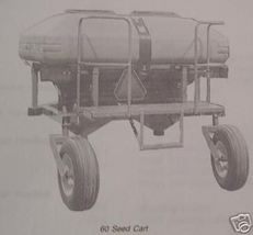 John Deere 60 Seed Cart Operator's Manual - $14.00