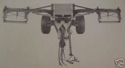 Primary image for JD 530 Transport Hitch for Grain Drills Operator Manual - S/N 602 and up.