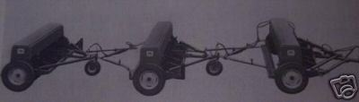 Primary image for JD 450 Grain Drills 3-Drill Hitch Operator's Manual