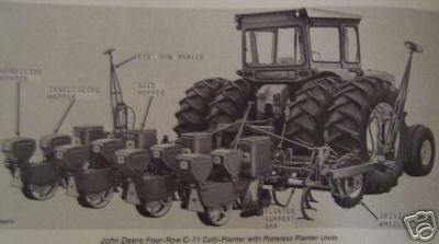 Primary image for John Deere C-11 Culti-Planter Operator's Manual