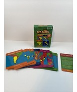 Wold Geo Cards 5 Card Games 1-4 Player 4+ GeoToys - $98.99