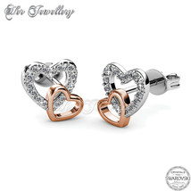 Love with Rose Gold Earrings - $29.90