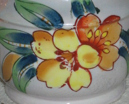 Lusterware Covered Sugar Bowl-Handpainted-Trico-Nagoya Japan image 2