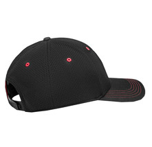 Puma Ferrari Sports Car Logo Wide Brim Dad Cap Snap Back Black Baseball Hat image 2