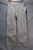 NEW Men's Craftsman Canvas Carpenter Pants Water, Oil Resistant Grey 34 x 30 - $29.94