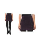 $88 Blanknyc Velveteen Mini Skirt Burgundy 31 - $67.61