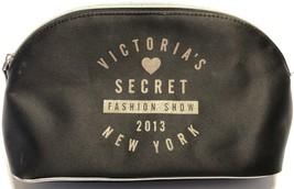 Victoria's Secret New York Fashion Show 2013 Black Zip Tote Duffle Bag 9... - $19.55
