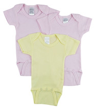 Bambini Short Sleeve One Piece 3 Pack - $12.99