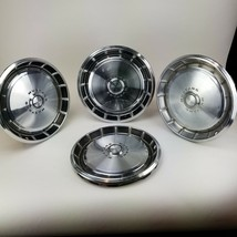 "1971 - 1973 Ford Mustang Hubcaps Wheel Cover Center Cap Standard 14"" Set of 4 - $98.00"