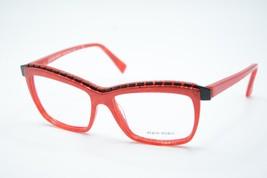 New Rare Vintage Alain Mikli A 02018 1057 Red Eyeglasses Authentic 54-15 W/CASE - $100.98