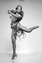 Ann-Margret B/W Exotic Glamour Pin Up Leggy Pose Sexy Costume 18x24 Poster - $23.99