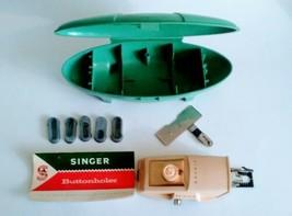 Vintage Singer Buttonholer for No. 489500 or No. 489510 Complete w/ Inst... - $10.00