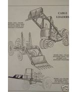 New Idea Loaders for Tractors Parts Manual - Original - 1953 - $15.00
