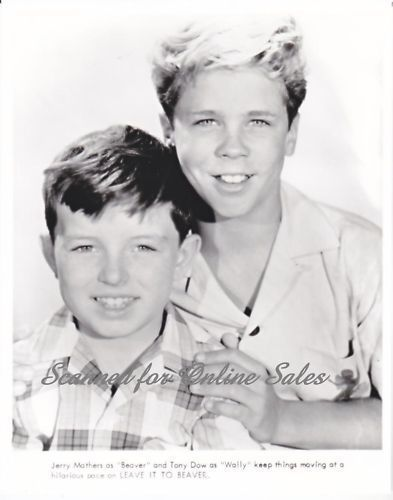 Jerry Mathers Tony Dow Leave it to Beaver 8x10 Photo