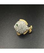 Swarovski Crystal Fish Tac Pin - $25.00